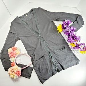 J. Crew Olive Green Thin Jacket with Pockets, XS